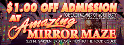 Mirror Maze Coupon